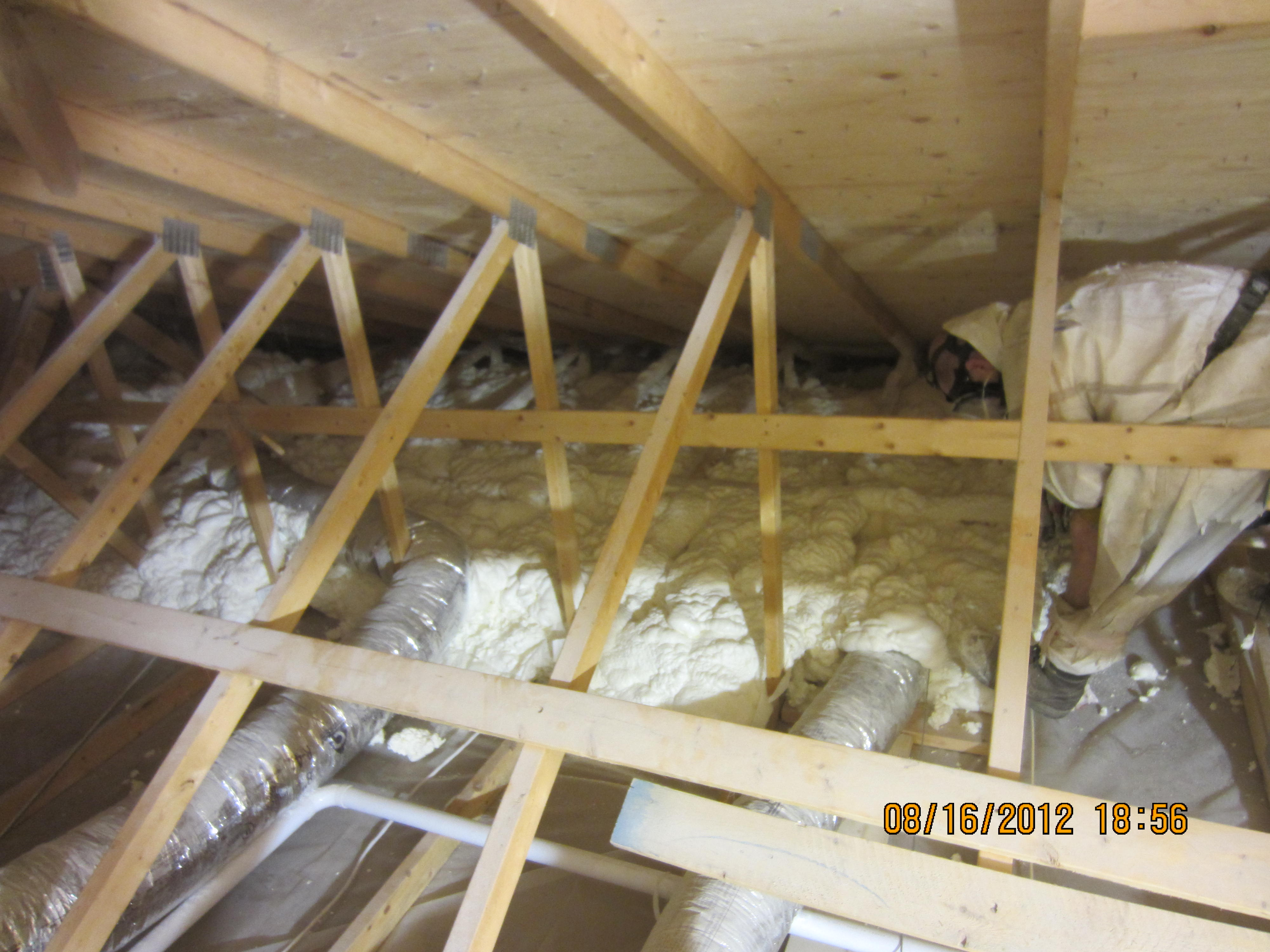 Attic Insulation In Etobicoke Foamit
