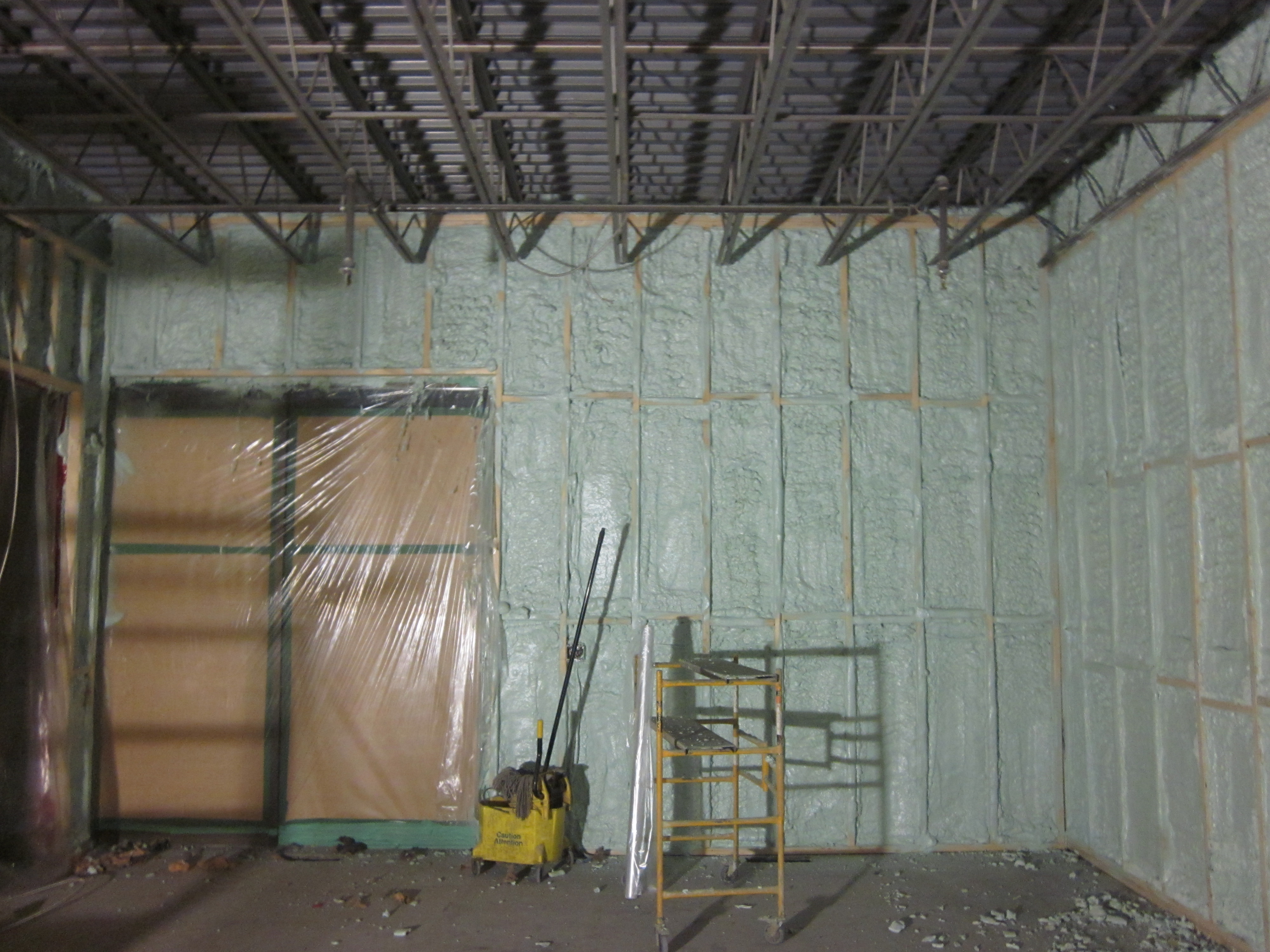 Commercial Building Spray Foam Insulation Foamit